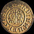 Imagen coin of visigothic origin