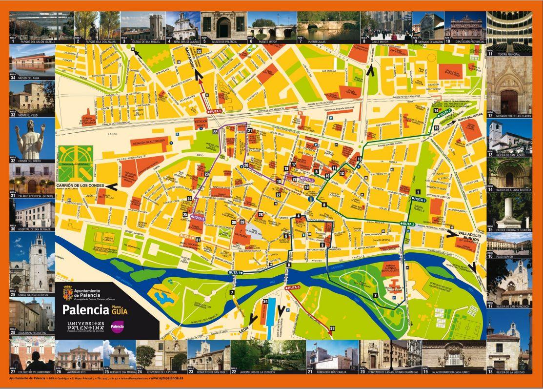 mapa turistico de lisboa pdf What to see and do : Ayuntamiento de Palencia mapa turistico de lisboa pdf